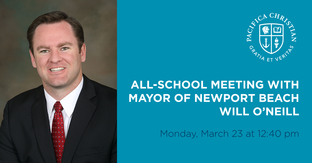 Mayor of Newport Beach to Speak to Students at ASM-Online on March 23